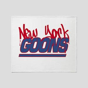 New York Goons Throw Blanket