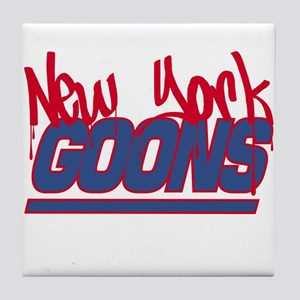New York Goons Tile Coaster