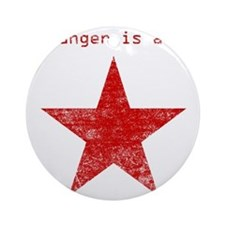 YOUR ANGER IS A GIFT Ornament (Round)