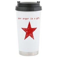 YOUR ANGER IS A GIFT Stainless Steel Travel Mug