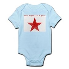 YOUR ANGER IS A GIFT Infant Bodysuit