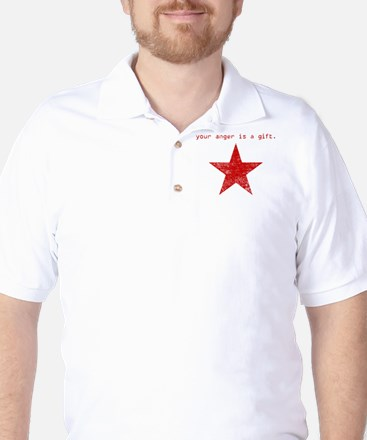 YOUR ANGER IS A GIFT Golf Shirt