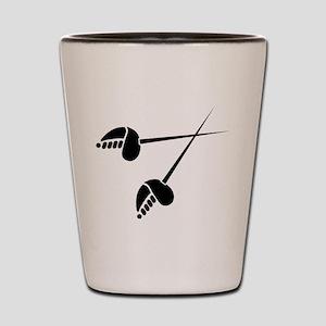 Fencing Shot Glass