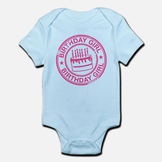 Birthday Girl Hot Pink Infant Bodysuit