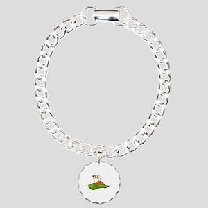 Golf Charm Bracelet, One Charm