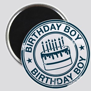 Birthday Boy Dark Blue Magnet