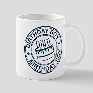 Birthday Boy Dark Blue Mug