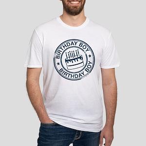 Birthday Boy Dark Blue Fitted T-Shirt