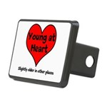 Young At Heart Rectangular Hitch Cover