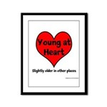 Young At Heart Framed Panel Print