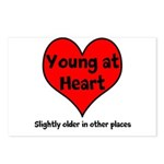 Young At Heart Postcards (Package of 8)