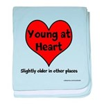 Young At Heart baby blanket