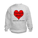 Young At Heart Kids Sweatshirt