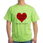 Young At Heart Green T-Shirt