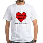 Young At Heart White T-Shirt