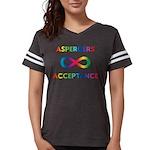 Aspergers Acceptance Womens Football Shirt