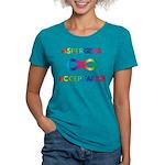 Aspergers Acceptance Womens Tri-blend T-Shirt