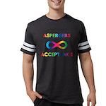 Aspergers Acceptance Mens Football Shirt