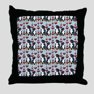 bernese Mtn dog home decor Throw Pillow
