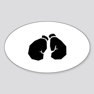 Boxing Sticker (Oval)