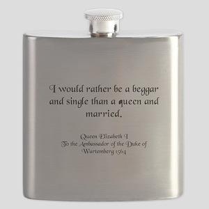queenlizstaysingle Flask