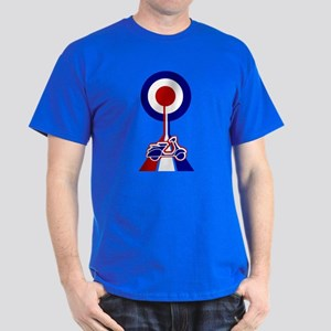 Mod Target Road with scooter Dark T-Shirt