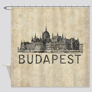 Budapest Shower Curtain