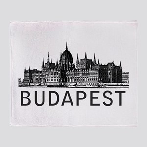 Budapest Throw Blanket