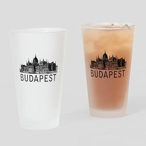 Budapest Drinking Glass