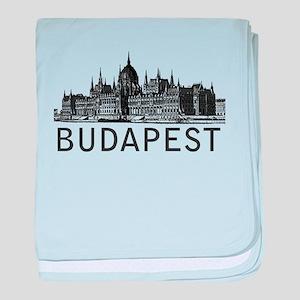 Budapest baby blanket