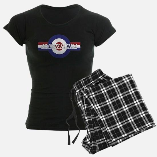 Retro Scooter Girl design Pajamas
