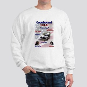 Coonhound Gifts Sweatshirt