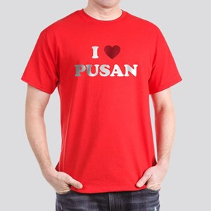 I Love Pusan Dark T-Shirt