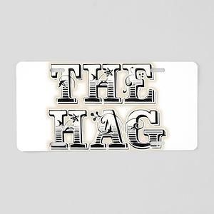 THE HAG Aluminum License Plate