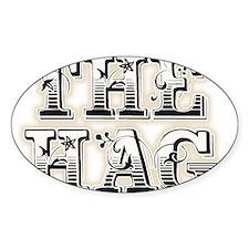 THE HAG Sticker (Oval)