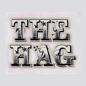 THE HAG Throw Blanket