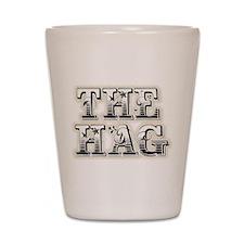 THE HAG Shot Glass