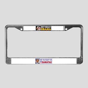 OBAMA THIEF License Plate Frame