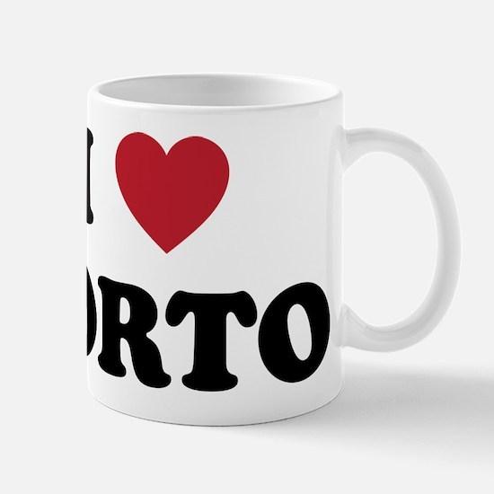 I Love Porto Mug