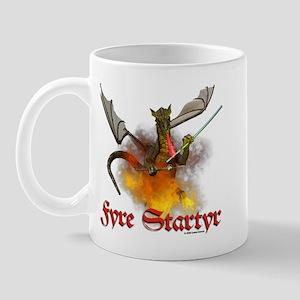 """Dragon Lampworker - """"Fyre Sta Mug"""