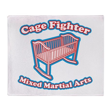Baby Cage Throw Blanket