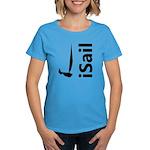 iSail Sailing Women's Dark T-Shirt