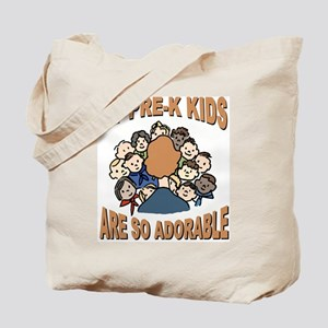 Adorable Pre-K Kids Tote Bag