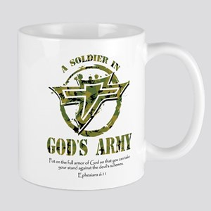 A Soldier in God's Army Mug