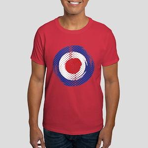 Retro look Mod target art Dark T-Shirt