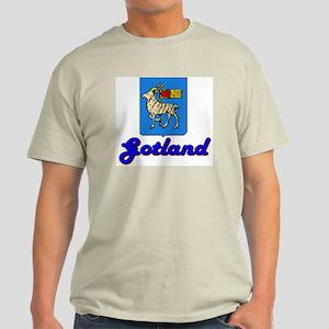 Gotland County Ash Grey T-Shirt