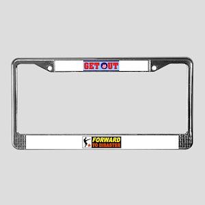 OBAMA GET OUT License Plate Frame