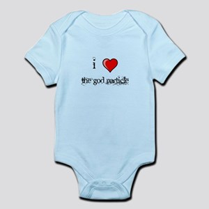 i love THE GOD PARTICLE shirt Higgs-Boson Infant B