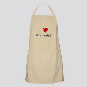 i love THE GOD PARTICLE shirt Higgs-Boson Apron