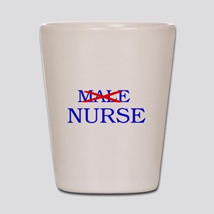 MALE NURSE Shot Glass